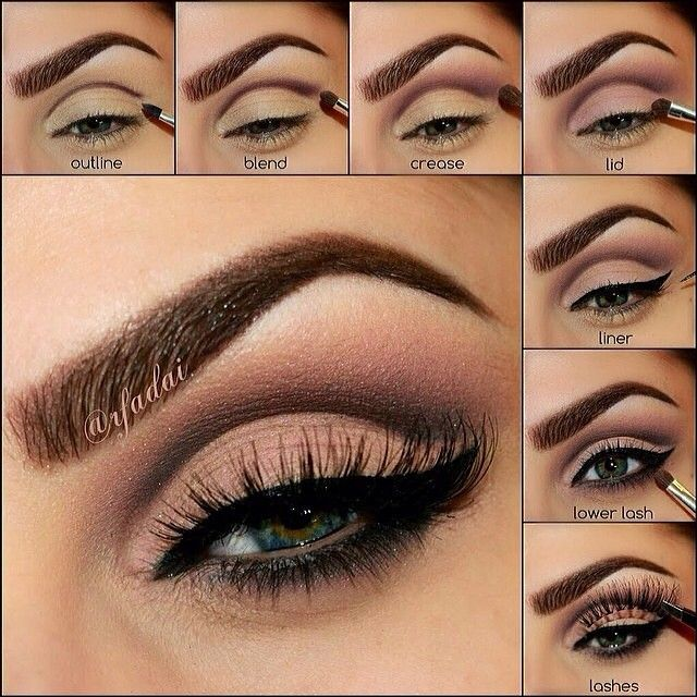 4 Simple Steps To The Perfect Cut Crease Eye Makeup