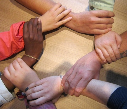 together-team-people-circle-hands-group-support