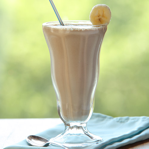 Peanut Butter Smoothie for Flat Belly